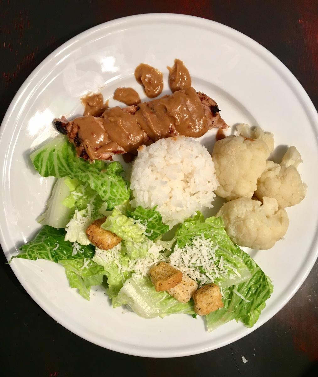 Grilled Asian Pork Tenderloin with Peanut Sauce – It's a peg's life